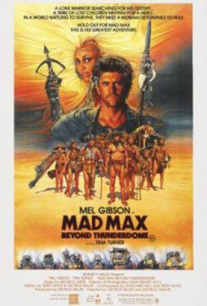 Mad Max 3 - Bortom Thunderdome poster