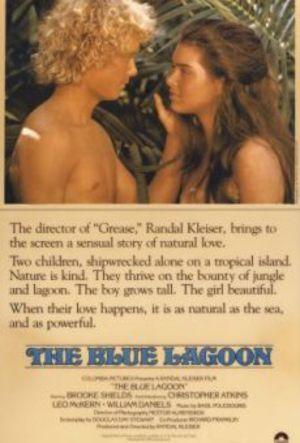Den blå lagunen poster