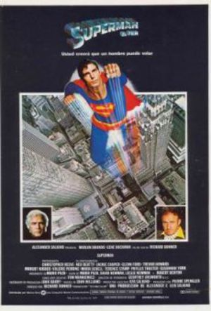 Superman - The Movie poster
