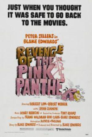 Rosa Panterns hämnd poster