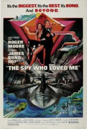 Älskade spion poster