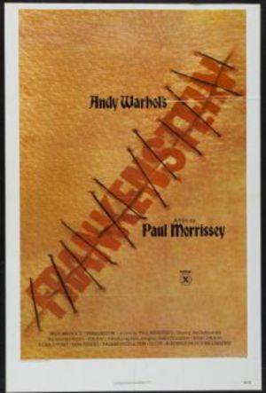 Andy Warhol's Frankenstein poster