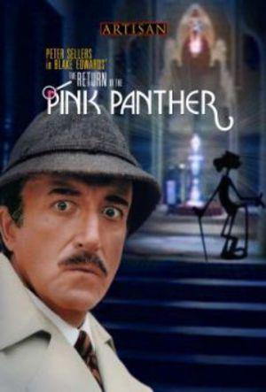 Rosa Pantern kommer tillbaka poster