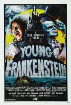 Det våras för Frankenstein poster