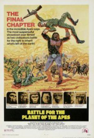 Slaget om apornas planet poster