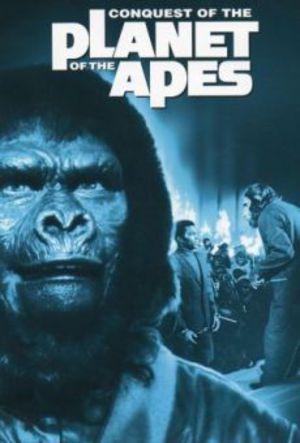 Erövringen av apornas planet poster