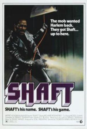 Mitt namn är Shaft poster