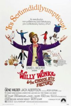 Willy Wonka och chokladfabriken poster