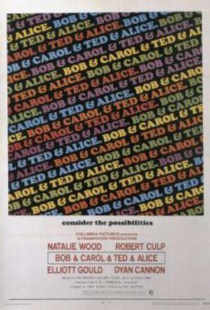 Bob & Carol & Ted & Alice - Låt oss ha ett sängparty poster
