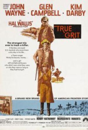 True Grit - De sammanbitna poster