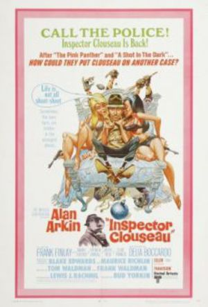 Kommissarie Clouseau poster