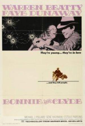 Bonnie och Clyde poster