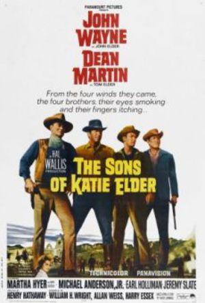 Katie Elders fyra söner poster