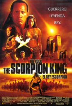Scorpion King poster