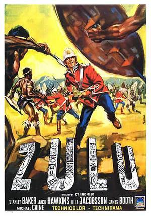 Zulu - Till sista man poster