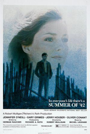 Sommaren '42 poster