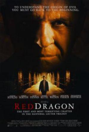Röd drake poster