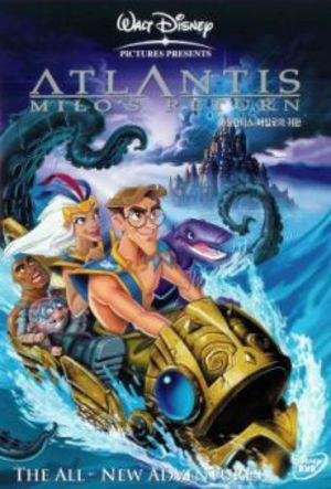 Atlantis 2 - Milos återkomst poster