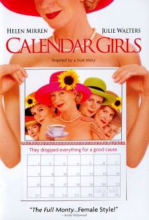 Kalenderflickorna poster
