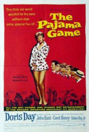 Pyjamasleken poster