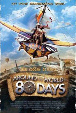 Jorden runt på 80 dagar poster