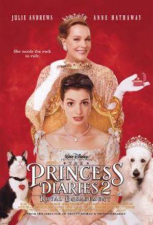 En prinsessas dagbok 2 - Kungligt uppdrag poster