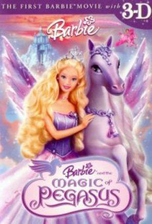 Barbie och pegasus förtrollning poster