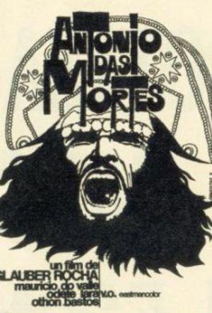Antonio das Mortes, de dödas vän poster