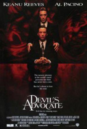 Djävulens advokat poster