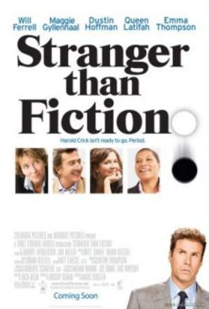 Stranger Than Fiction poster