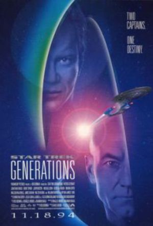 Star Trek VII: Generations poster
