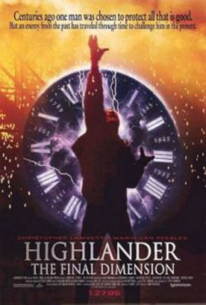 Highlander 3 - The Sorcerer poster