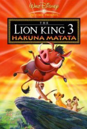 Lejonkungen 3 - Hakuna Matata poster