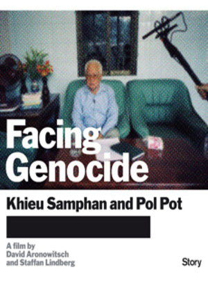 Facing Genocide - Khieu Samphan and Pol Pot poster