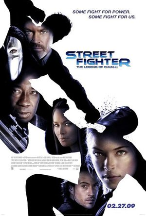 Street Fighter: Legend of Chun-Li poster