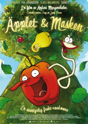 Äpplet och masken poster