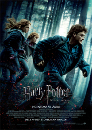 Harry Potter och dödsrelikerna del 1 poster