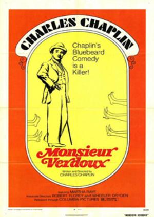 Monsieur Verdoux poster