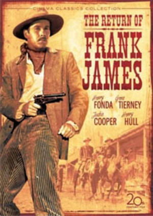 Frank James hämnd poster