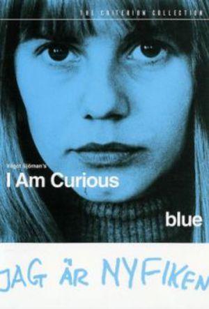 Jag är nyfiken - blå poster