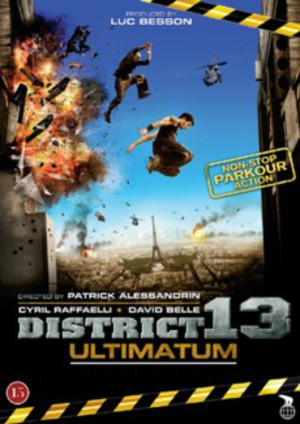 District 13: Ultimatum poster