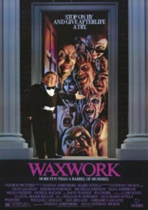 Waxwork - Skräckkabinettet poster