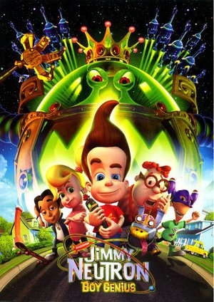 Jimmy Neutron: Pojkgeniet poster
