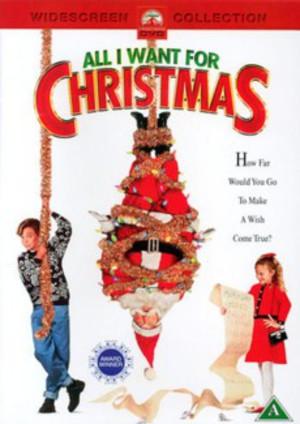 Allt jag vill ha i julklapp poster