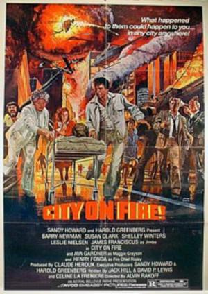 Eldstormen poster