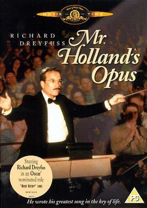 Mr Hollands symfoni poster