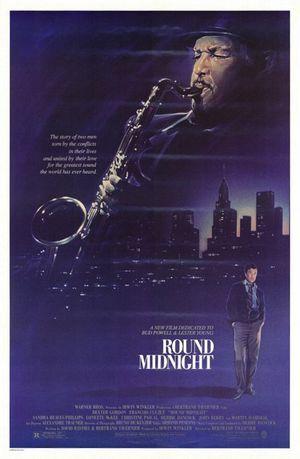 Kring midnatt poster