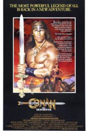 Conan - Förgöraren poster