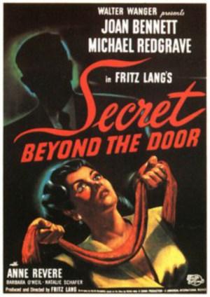 Den låsta dörren poster