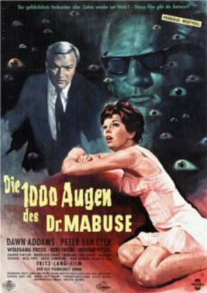 Dr. Mabuses 1000 ögon poster